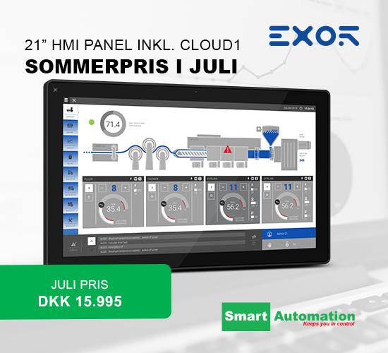 Link til EXOR HMI paneler på www.smartdk.com